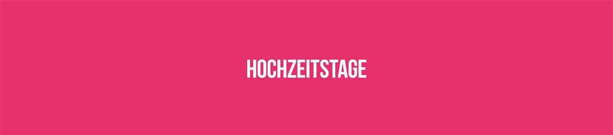 HOCHZEITSTAGE 2017 IN HAMBURG